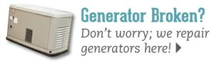 Generator Broken? Don't worry; we repair generators here!